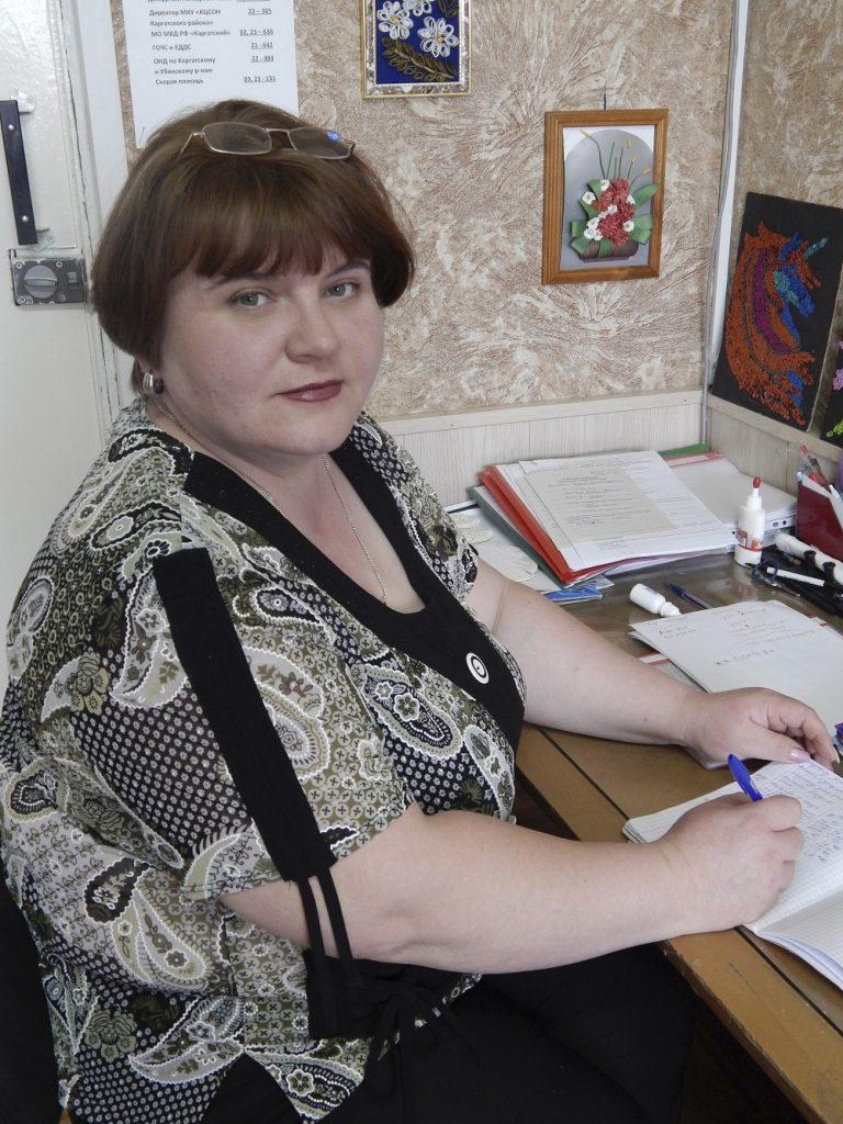 Специалист по социальной работе Крюкова Светлана Петровна